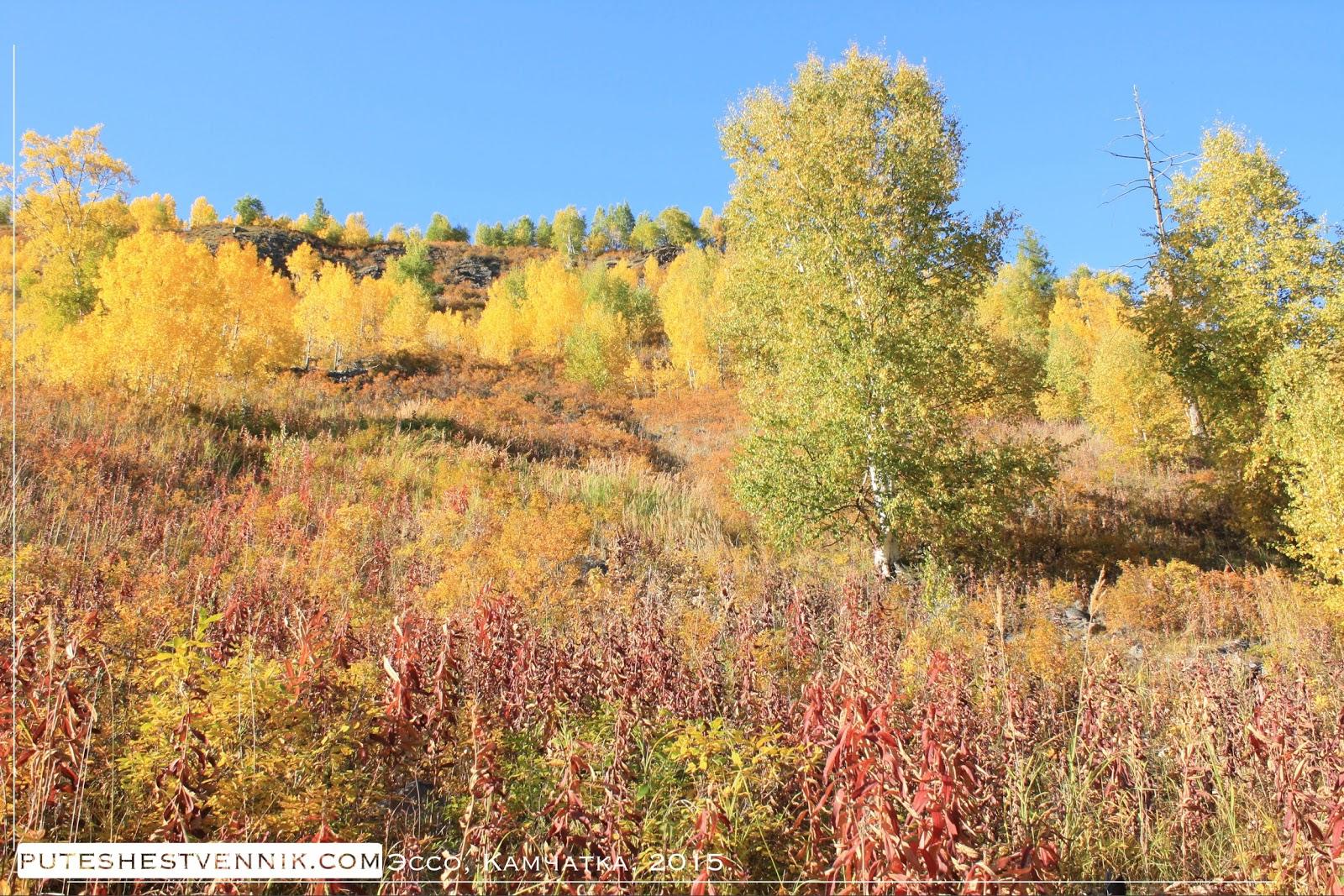 Путешествие на Камчатку осенью