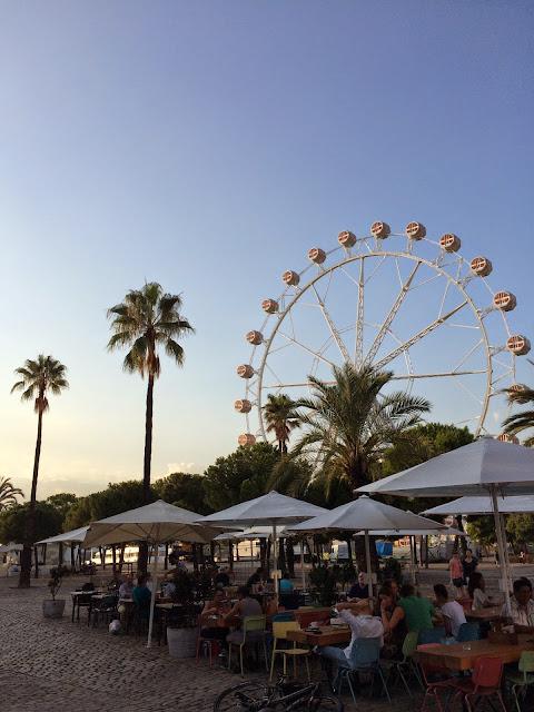 Barceloneta - Lunapark