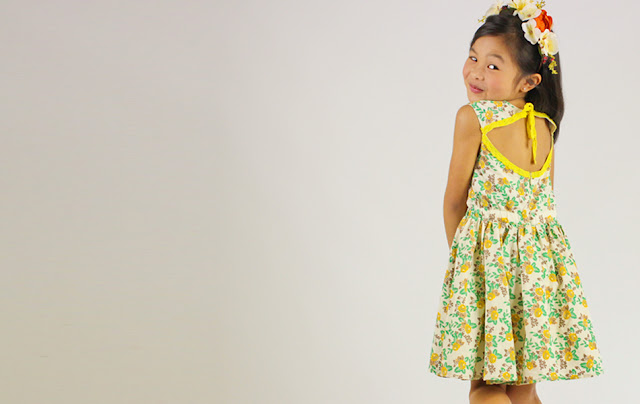 Siaomimi Summer Open Back Dress | Girls Boutique | Chichi Mary