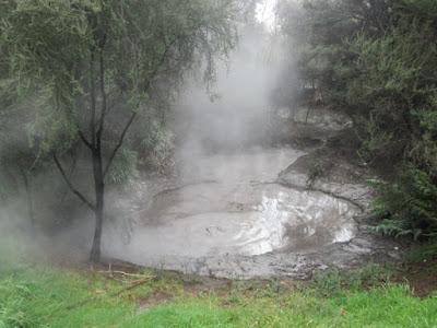 Parque Kuirao. Rotorua, Nueva Zelanda