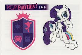 MLP Tattoo Card 3 Equestrian Friends Trading Card