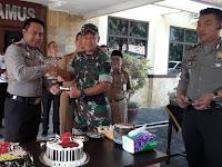 Hut Bhayangkara ke-72 di Polres Tanggamus Berlangsung Meriah