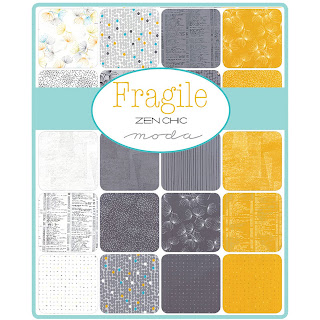 Moda Fragile Fabric by Zen Chic for Moda Fabrics