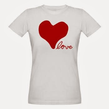 RED HEART LOVE VALENTINE'S DAY T SHIRT