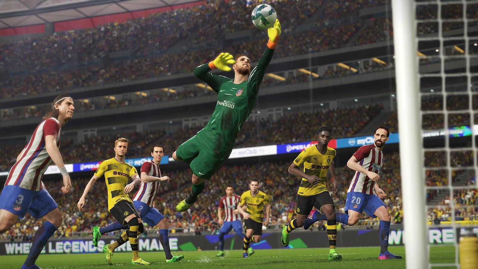 Pro Evolution Soccer 2018 XBOX 360 (Region PAL) (COMPLEX) 3