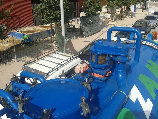 transporte y gestión de residuos de fosas sépticas Madrid