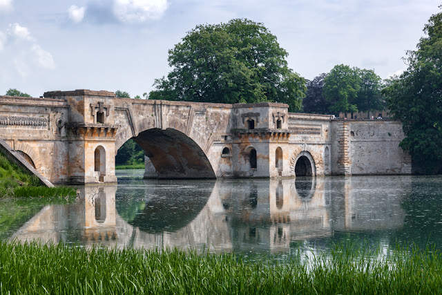 Blenheim Palace in Woodstock is home to the Grand Bridge by Martyn Ferry Photography
