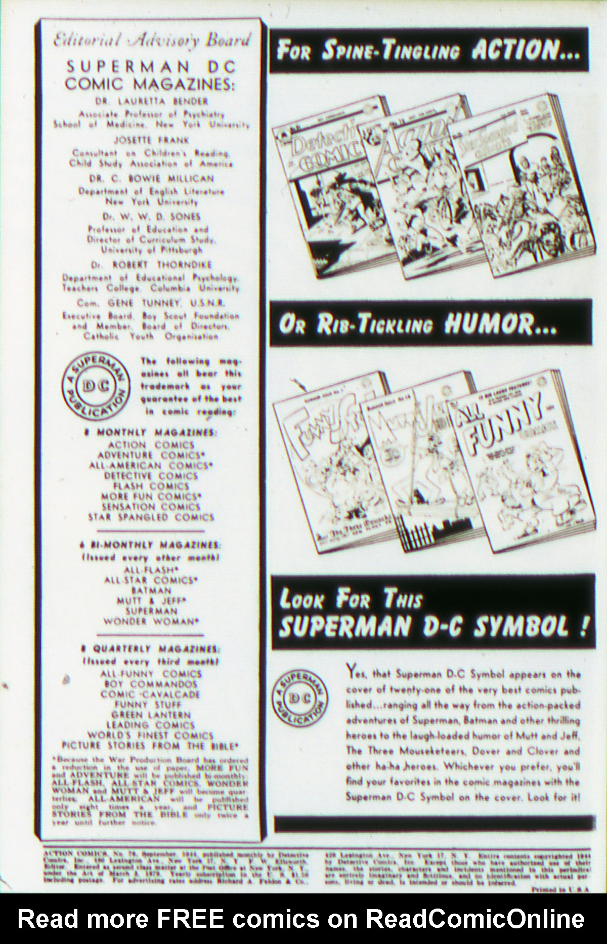 Read online Action Comics (1938) comic -  Issue #76 - 3