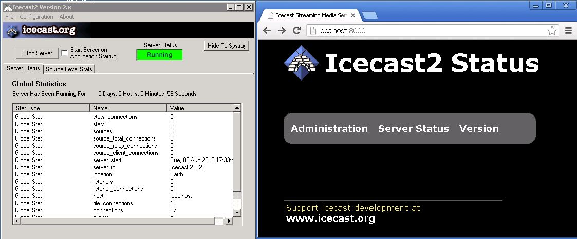 Icecast + VLC Installation and Configuration Guide ~ The Sysadmin