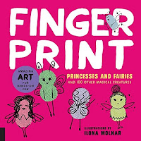 Fingerprint Princesses and Fairies cover