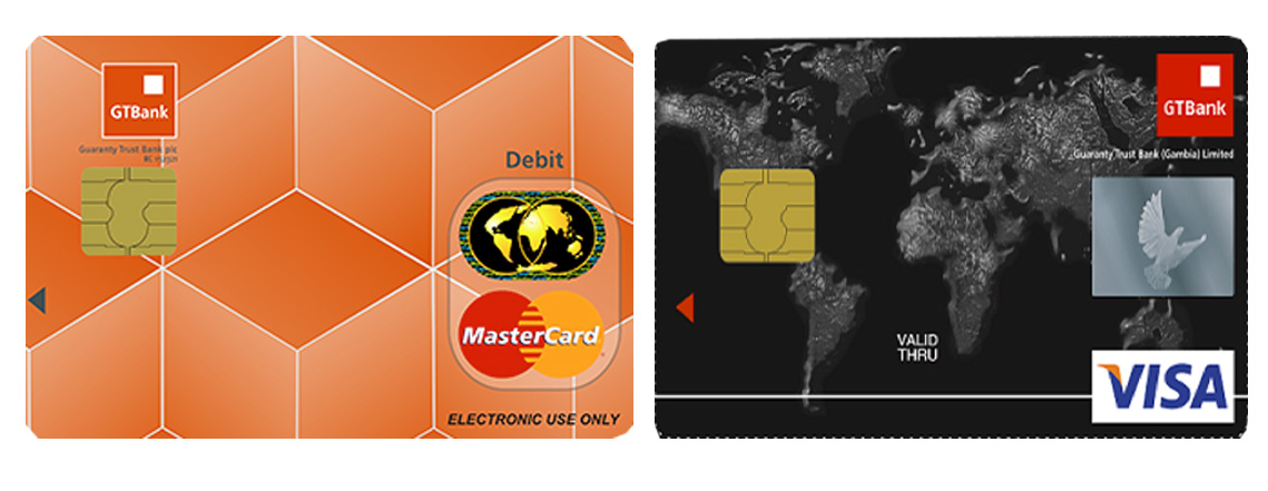 GTBank Naira MasterCard Vs Visa Classic Debit Card, Features & Benefits