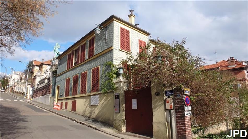Paris bise art la maison des jardies le monument for Appartement et maison meudon