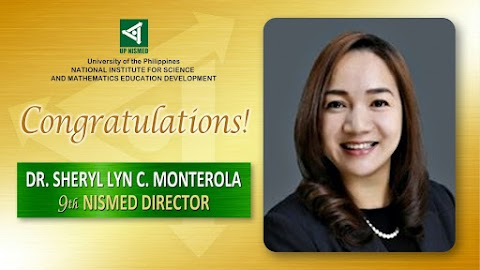 UP NISMED Welcomes Dr. Monterola as the 9th Director