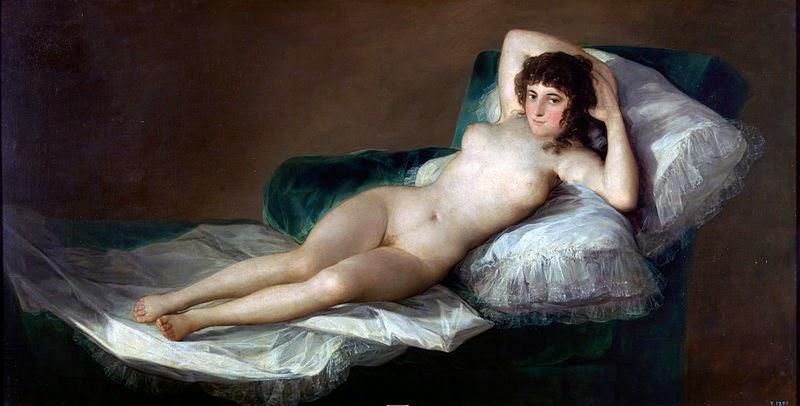 A Maja Nua - Goya, Francisco e suas pinturas ~ Foi um importante pintor espanhol da fase do Romantismo