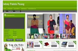 Johny Palelu Peang - Template Blog Toko Online