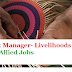 Block Manager Livelihoods | Agri-Allied Jobs 90 Posts