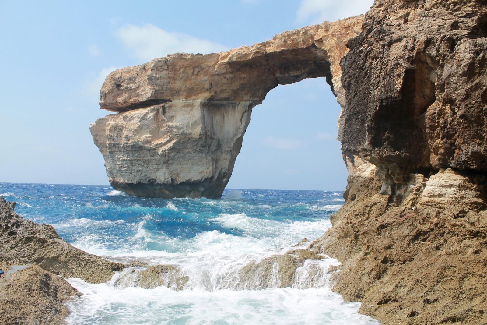 La necessit di viaggiare malta - La finestra azzurra gozo ...