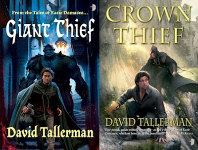 Covers Revealed - All is Fair by Emma Newman and Prince Thief by David Tallerman - July 9, 2013