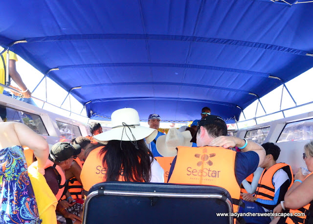 Phuket island hopping via speedboat