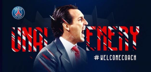 OFICIAL: Unai Emery é o novo treinador do PSG