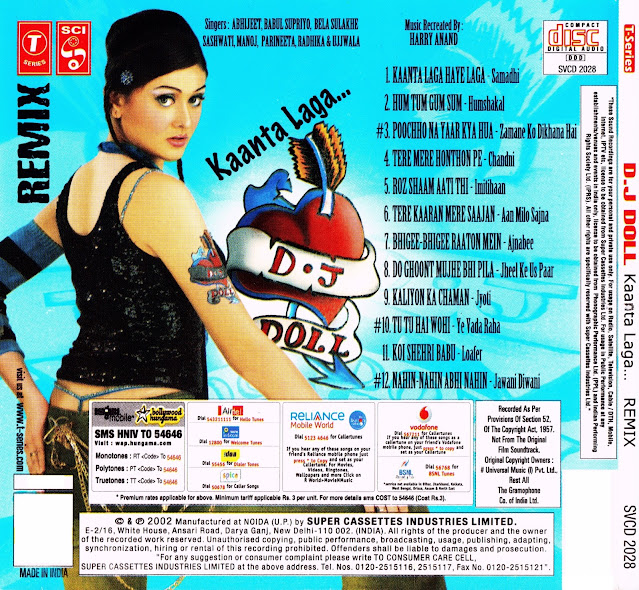 Download DJ Doll - Kaanta Laga Remix [2002-MP3-VBR-320Kbps] Review