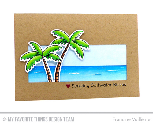 Handmade card from Francine Vuilleme  featuring products. from My Favorite Things #mftstamps