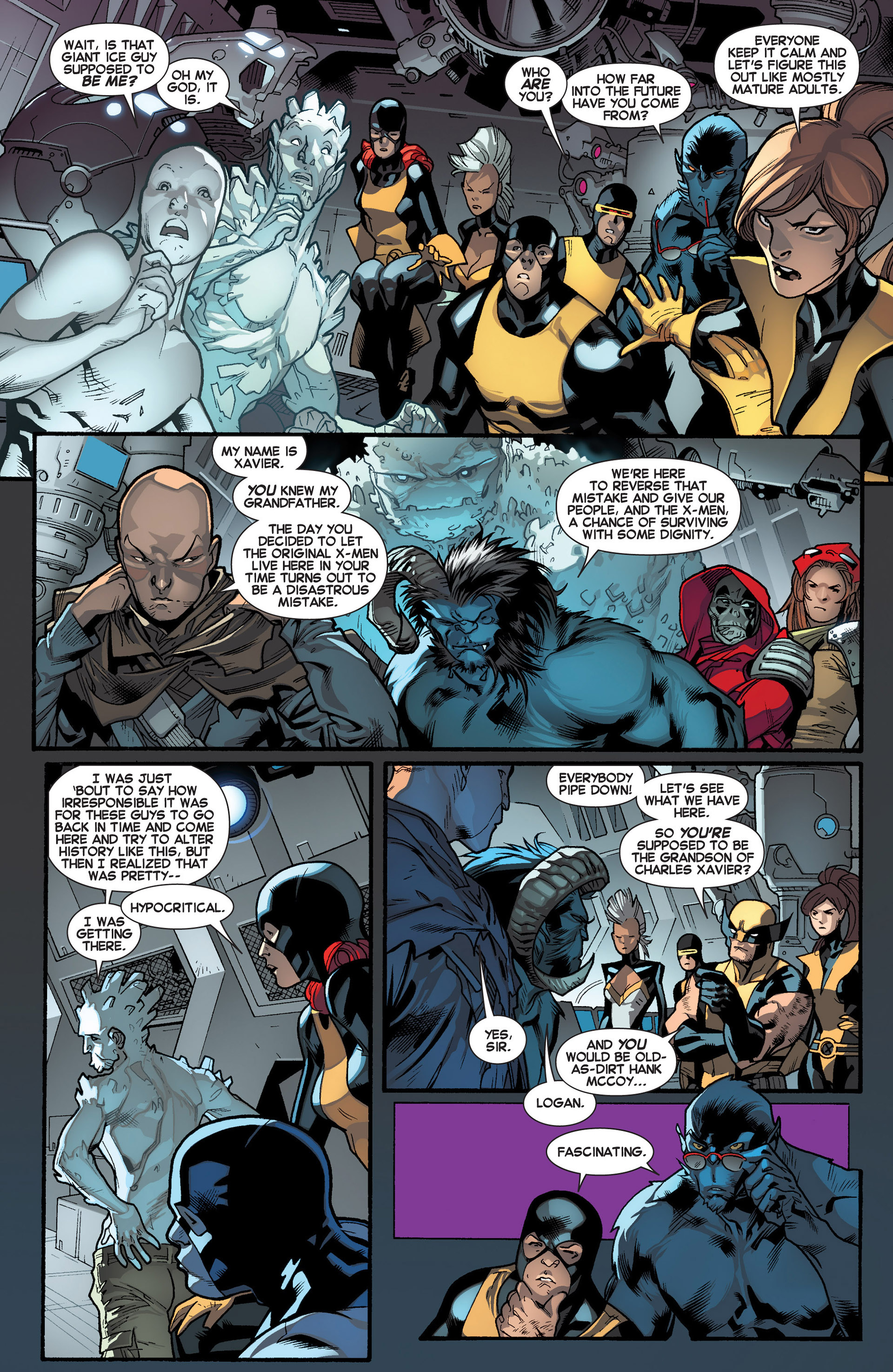 Read online All-New X-Men (2013) comic -  Issue #16 - 5