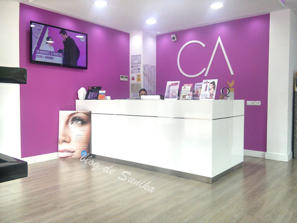 Reflejos de mujer centros medico est ticos cristina alvarez for Decoracion centro estetica