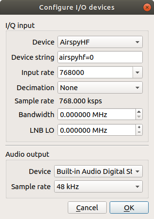 marxy's musing on technology: AirSpy HF+ review - a nice SDR