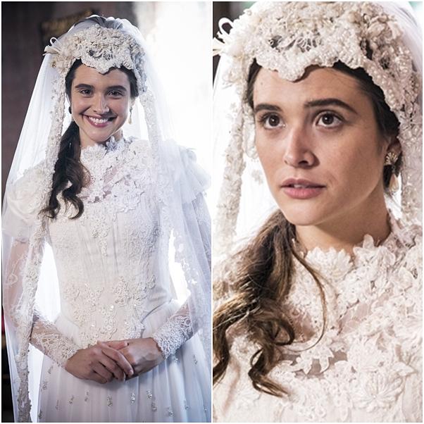 Vestido de noiva Marocas e Bento o tempo não para