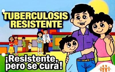 Dibujo dedicado a la tuberculosis a colores