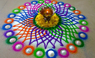Gudi Padwa Rangoli Photos