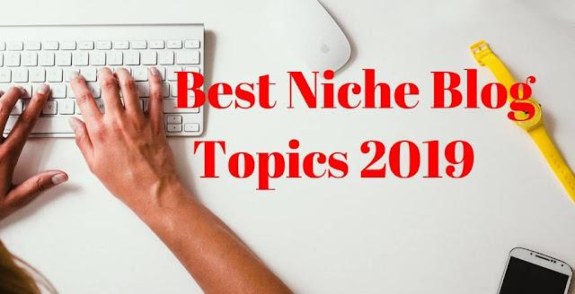 Blog Topics 2019