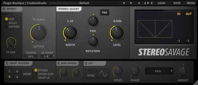 THEOMUSICALIKEPUH: Stereo Savage By Plugin Boutique (free download +