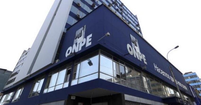 ONPE organizará elecciones de rectores que integrarán comisión especial para designar JNJ - www.onpe.gob.pe