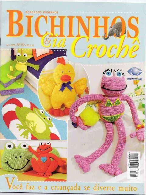 Bichinhos & Cia Crochê N° 2