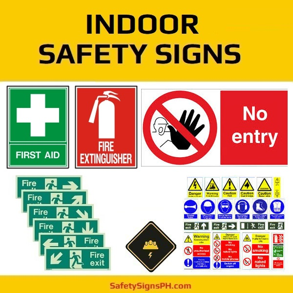 Indoor Safety Signages Philippines