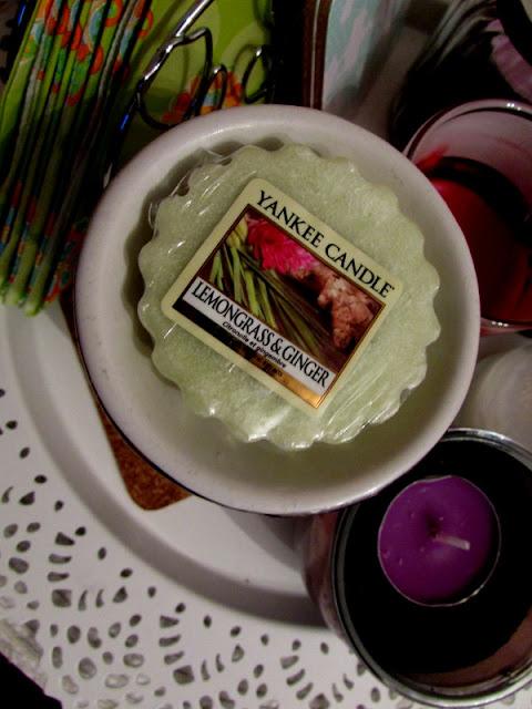 Yankee Candle Lemongrass & Ginger