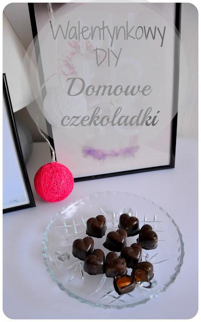 DIY walentynkowe- Domowe czekoladki