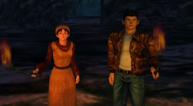 Shenhua and Ryo at the Stone Pit