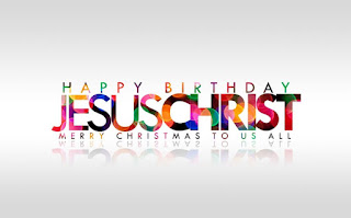 Jesus Christ Christmas Wallpaper