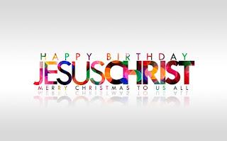 Jesus Christ Christmas Wallpaper