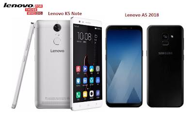 Harga Dan Spesifikasi Lenovo K5 Note Dan Lenovo A5 (2018)
