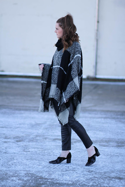 Poncho outfit ideas