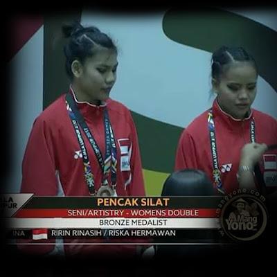 Pencak Silat Ganda Putri Indonesia Raih Perunggu SEA Games 2017