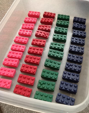 Making your own Lego crayons