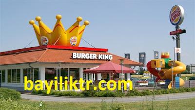 Burger King Bayilik Şartları