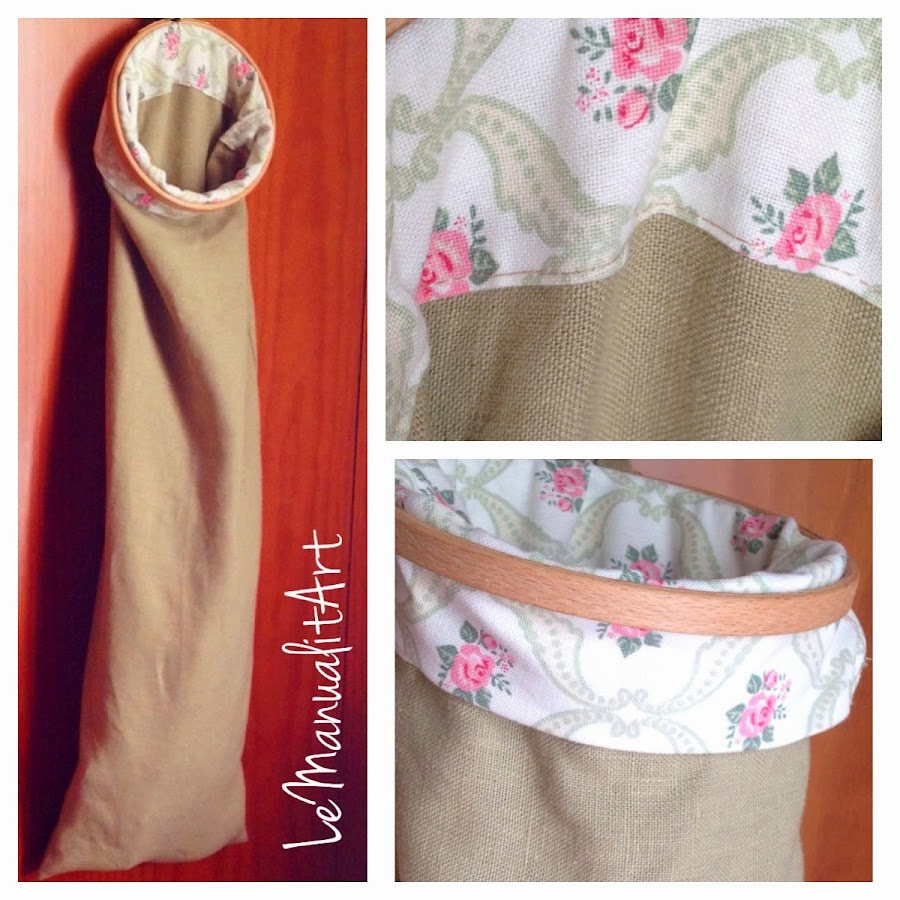 LeManualitArt Costura fácil: bolsa para pan