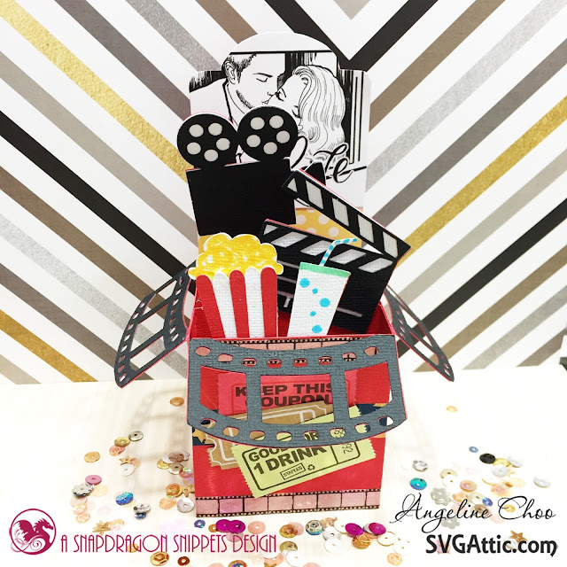 ScrappyScrappy: Love Movie Box with SVG Attic #scrappyscrappy #svgattic #unitystampco #card #cardmaking #svg #diecut #papercraft #craft #stamp #stamping #valentine #movie #boxcard