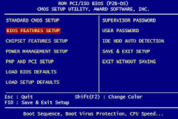 Cara Masuk BIOS dan Setting BIOS Komputer (Konfigurasi BIOS)